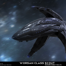 Worsam Class Scout by Anton Cherevan
