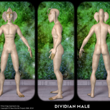 Dividian Male Concept by David Collins