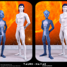Taurii - Navak Comparison by David Collins
