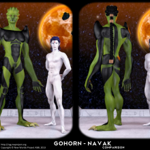 Gohorn - Navak Comparison by David Collins