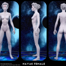 Navak Female Concept by David Collins