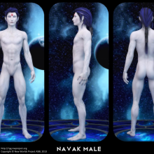 Navak Male Concept by David Collins