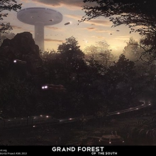 Grand Forest of the South 1920 x 1200 1610